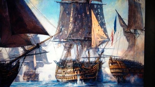 Retirada de la escuadra de Luis XIV