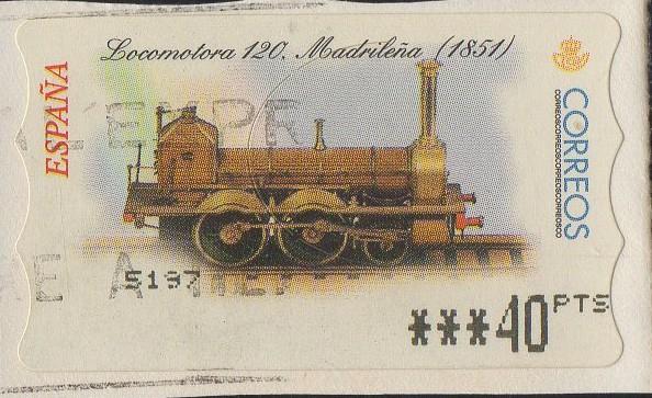 locomotora ferrocarril 1851