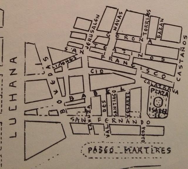 Distrito San Francisco de Alicante (siglo XVIII)